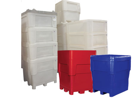 1110 Series Single Wall Bin