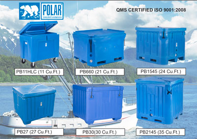New Polar Insulated Fish Boxes