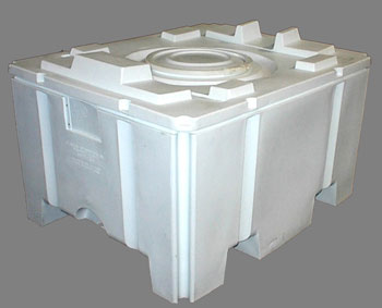 Plastic Pharmaceutical Hopper Bins