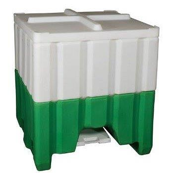 48x48 Bottom Discharge Hopper Bin