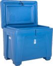11 Cu Ft Insulated Fish Box, Hinged Lid