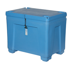 11 Cu Ft Polar Insulated PB11HL Container, Hinged Lid