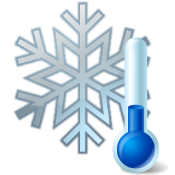 Thermometer Snowflake Icon