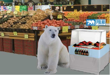Grocery Polar Bear